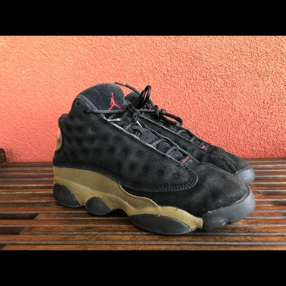 caeba12fafa Jordan Shoes | Air Retro 13 884129006 Blacklight Olive | Poshmark